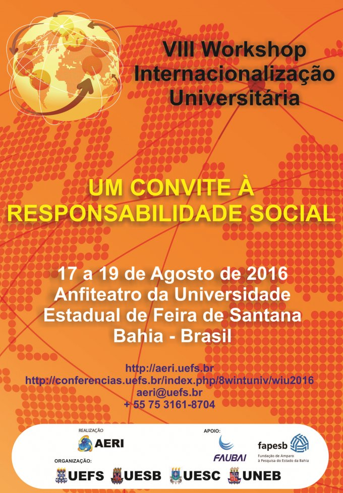 VIII Workshop Internacionalização Universitária