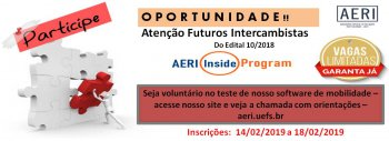 Chamada AERI Inside Program