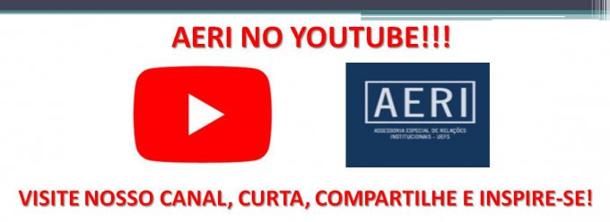 AERI LANÇA CANAL NO YOUTUBE